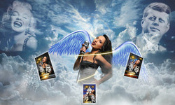 christina in the clouds ad