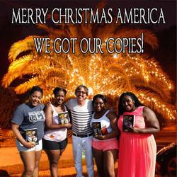 black girl christmas ad