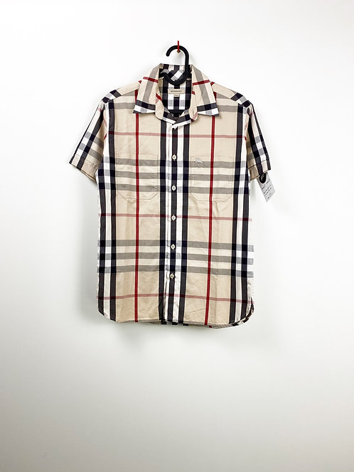 Chemise Manches Courtes BURBERRY (XS)
