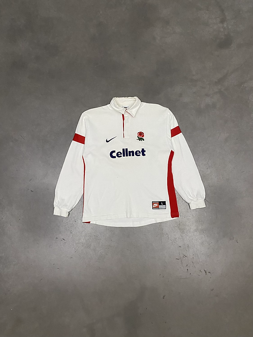 (S) Maillot NIKE x ENGLAND RUGBY 90s