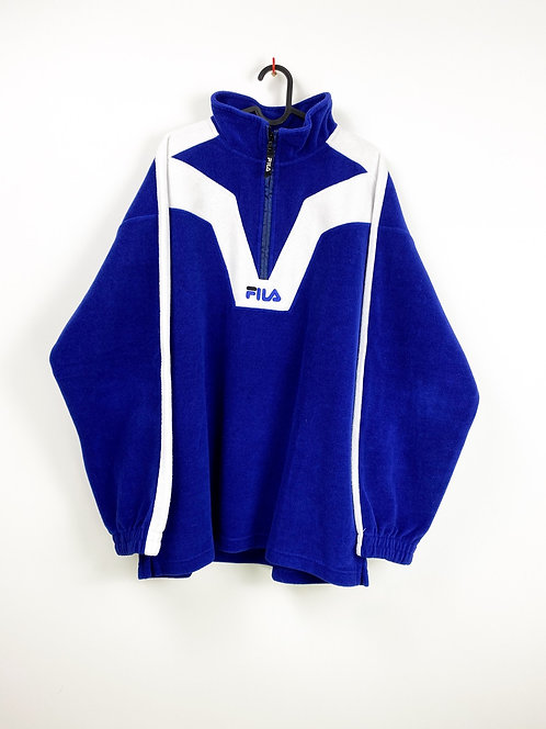 (XXL) 1/3 Zip Fleece FILA 90s