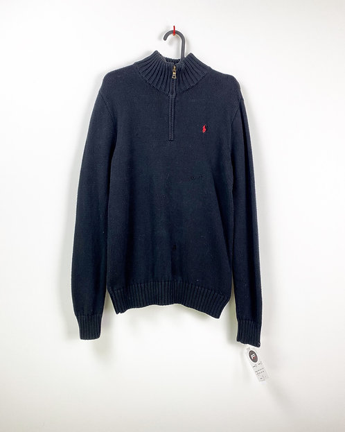 1/3 Zip RALPH LAUREN 90s (XL)