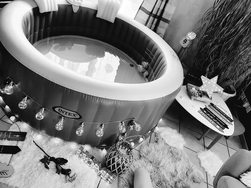 location de spa pour un moment en famille par l'entreprise Bulle d'un soir