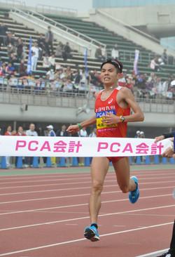 「マラソン選手」今井の意地(別府大分マラソン)
