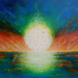 Sunset Fire     SOLD