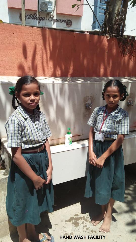 Hand wash facility