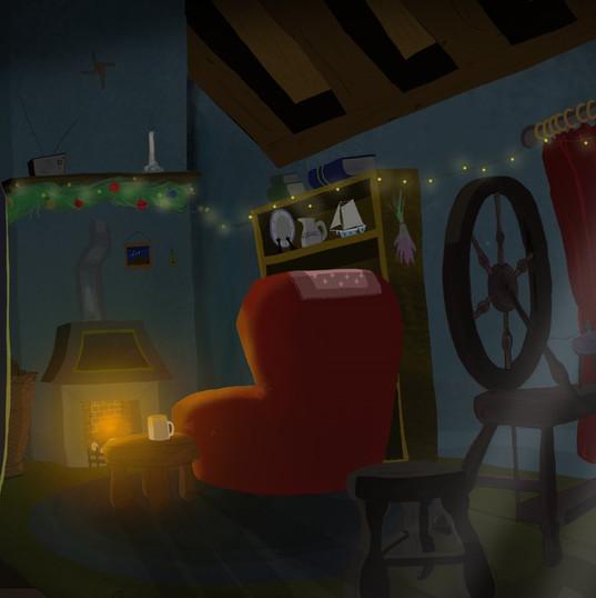 Cottage background