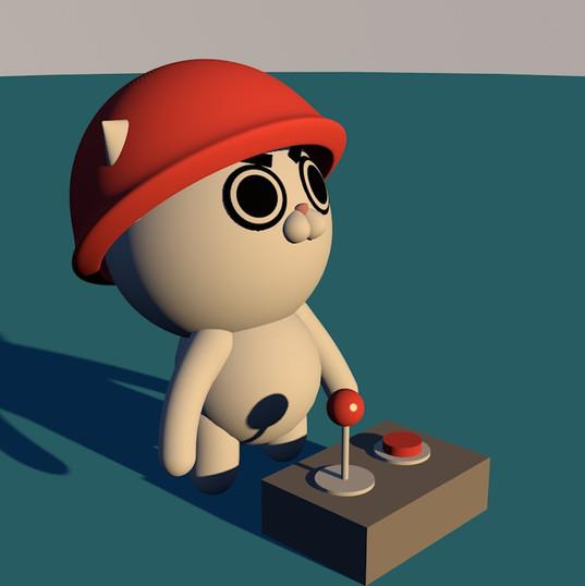 3D Battle Kat Bunker 01