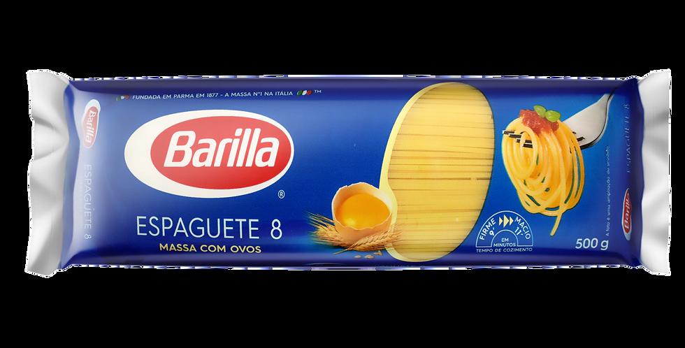 MAC. BARILLA ESPAGUETE 8 500G