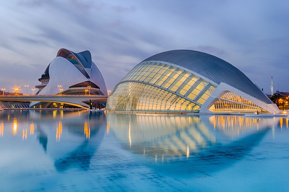 City of Arts - Valencia, Spain.  Photo credit: .zebbache-djoubair, Unsplash