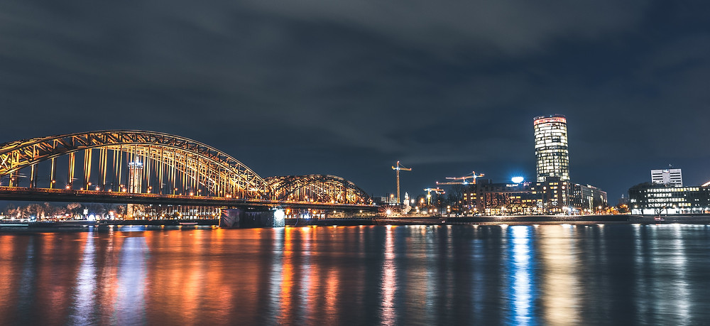 Cologne, Germany River Cruise - photo compliments of glenn-carstens-peters-Unsplash.com