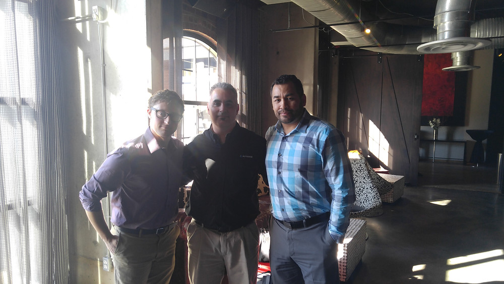 Eric Chappell, Kevin Mattice and me