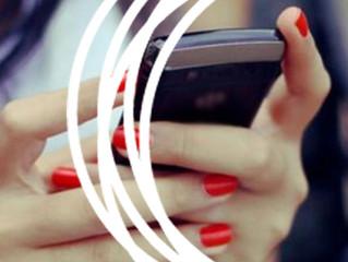 Os polegares e os celulares