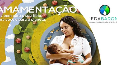 Semana Mundial da Amamentação:  entenda a relação entre aleitamento materno e desenvolvimento susten