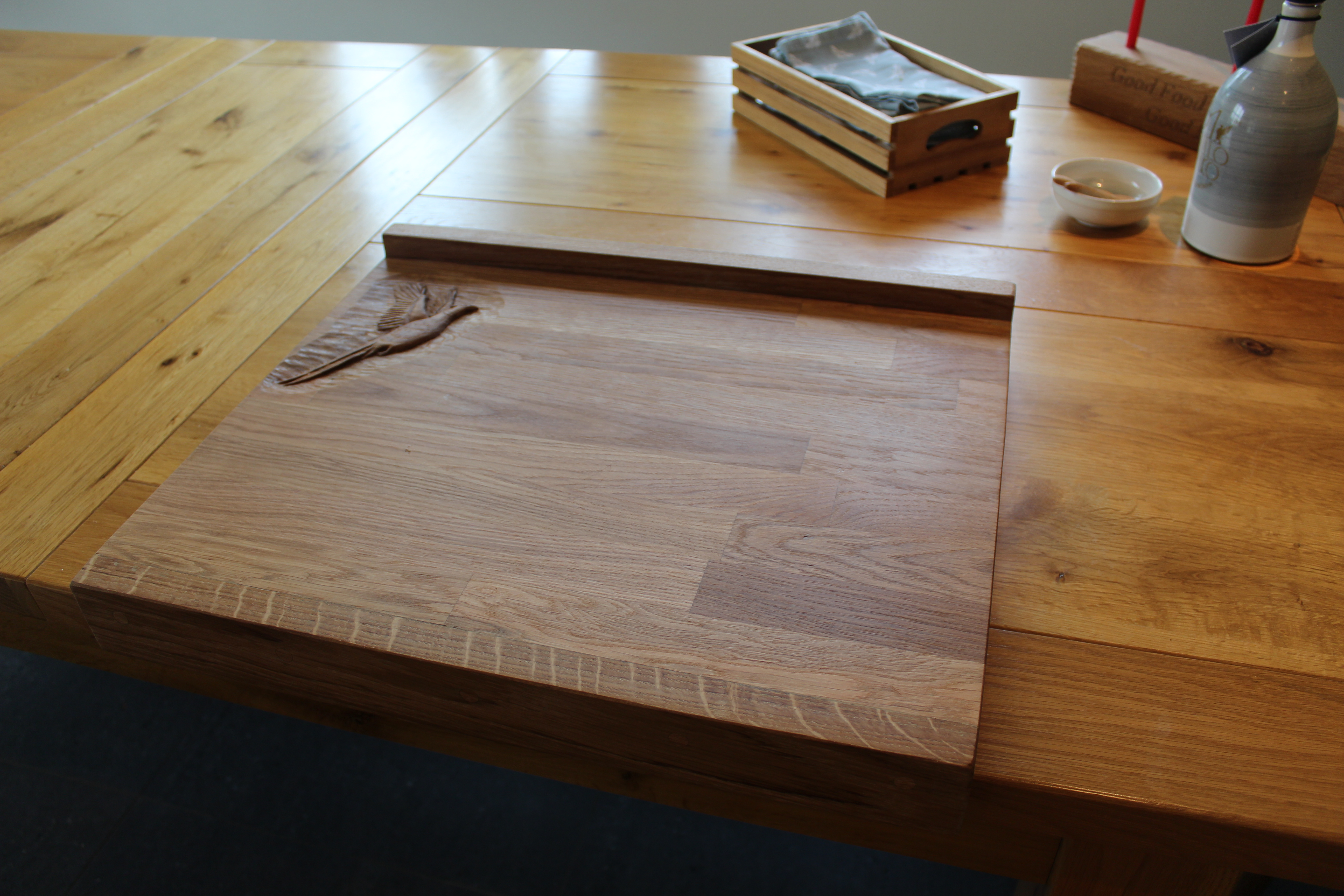 Oak Lipped Chopping Board