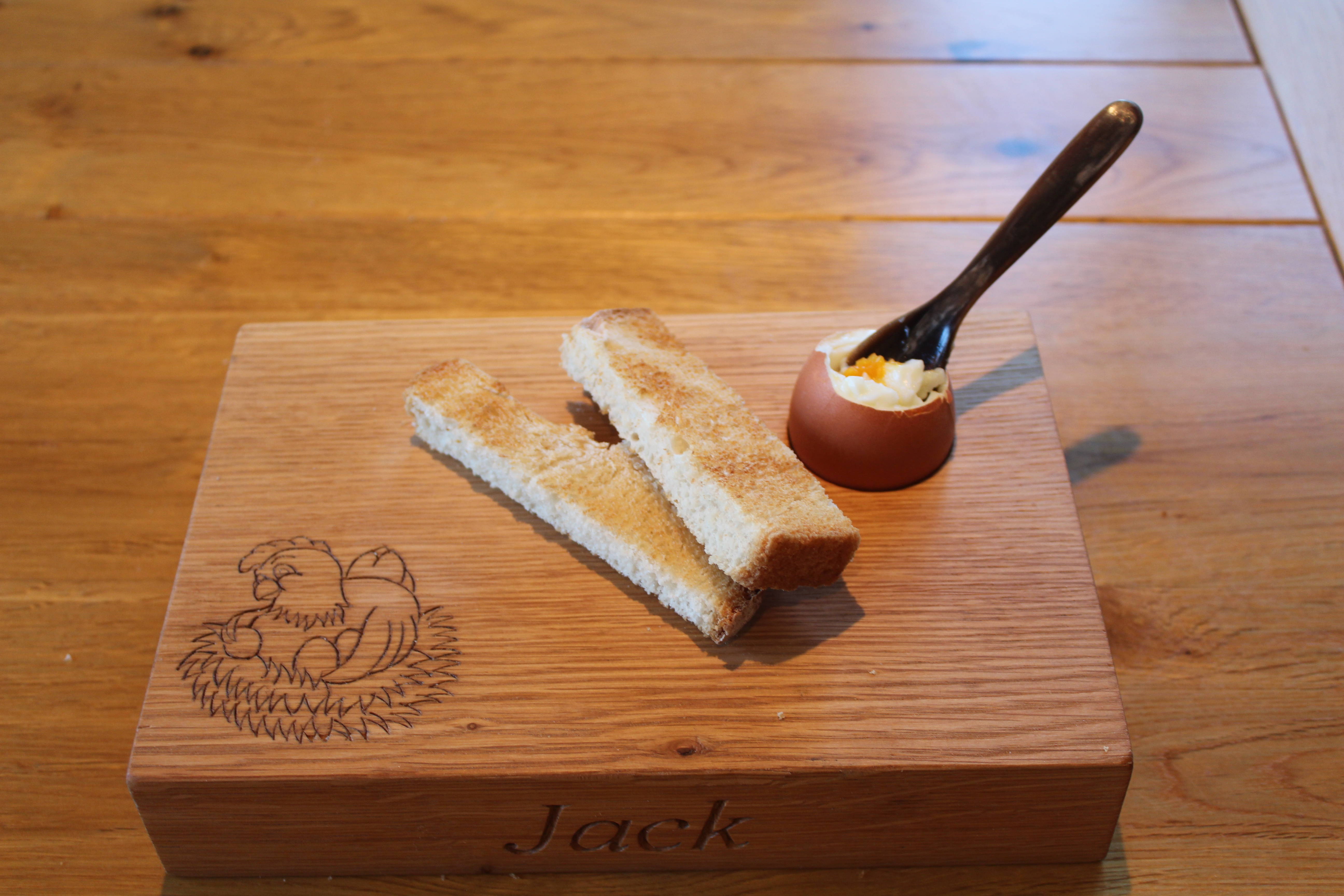 Oak 'Dippy Egg' Board
