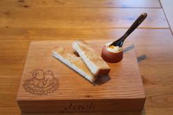 Oak 'Dippy Egg' Board