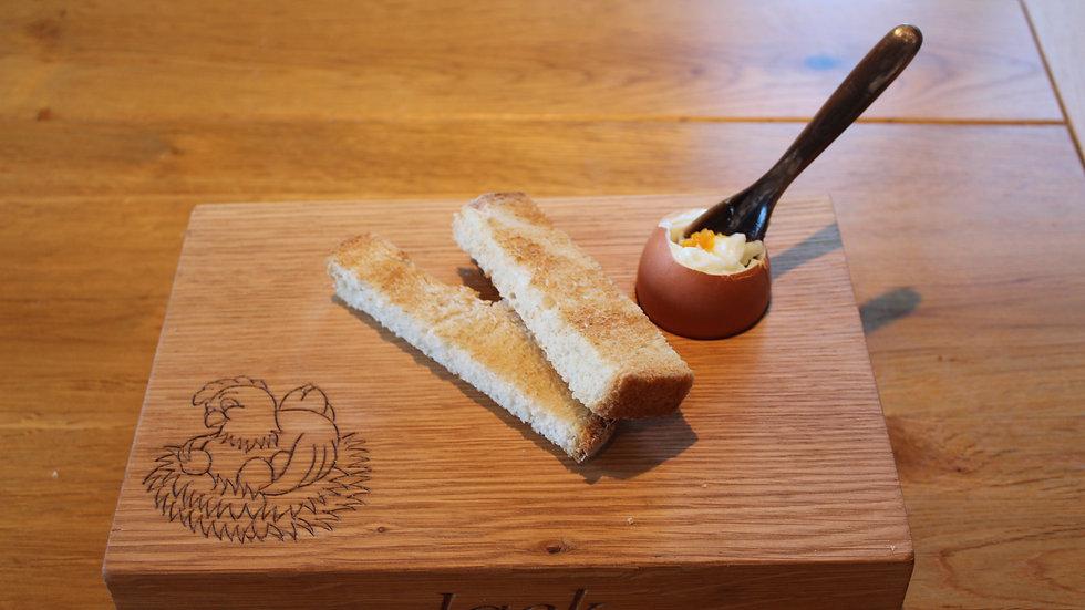Oak Dippy egg board