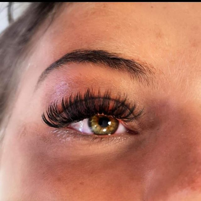 long and Russian lashes