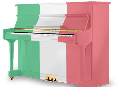 התחלנו למכור פסנתרים איטלקיים!