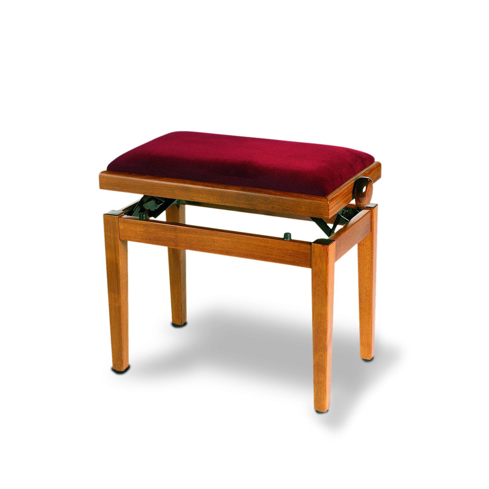 כסא לפסנתר בצבע דובדבן