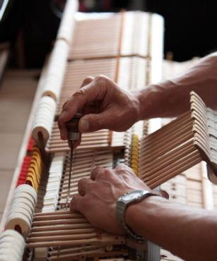 שיפוץ פסנתר, תיקון וצביעה - שירותים ואביזרים