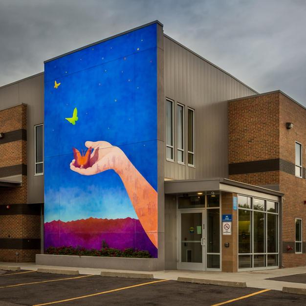Action Center Program Services Building