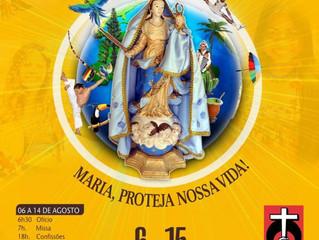 Festa em homenagem a Nossa Senhora d'Ajuda, a padroeira de Arraial