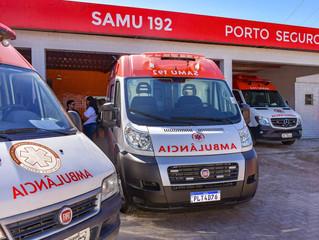 SAMU 24H de Porto Seguro adquire nova ambulância