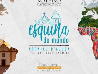 Arraial d'Ajuda ganha seu primeiro festival gastronômico