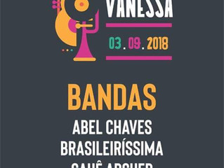 Festival Beneficente Vanessa acontece dia 03 de setembro