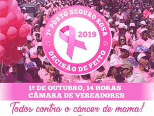 7ª Edição do Porto Seguro Rosa contará com carreta móvel