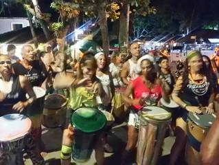 Bloco Afro Oduduwa fez ensaio de Carnaval de Rua, na Rua do Mucugê