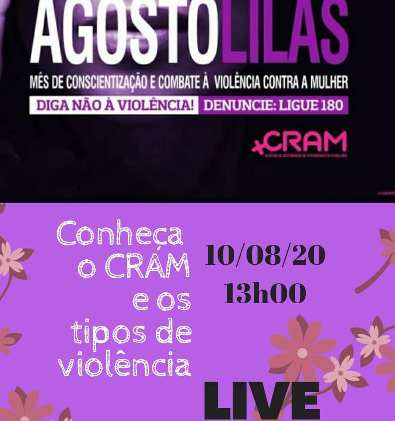 Campanha Agosto Lilás em Porto Seguro traz ações de combate à violência contra a mulher