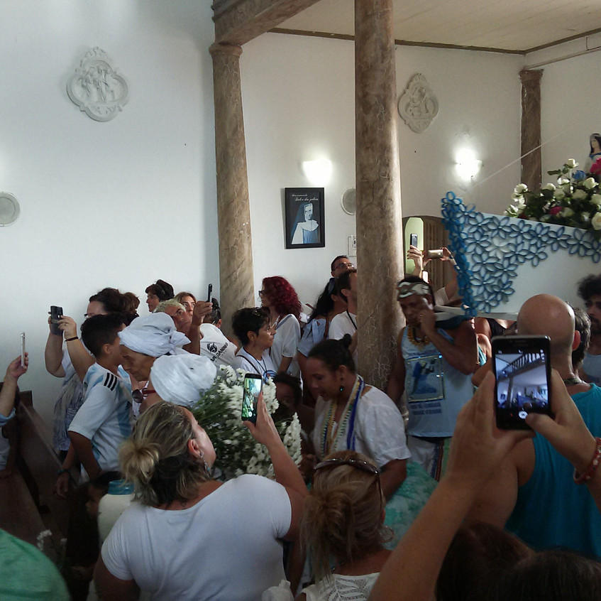 Festa de Iemanjá em Arraial d'Ajuda