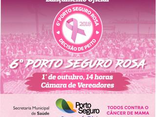 Campanha Outubro Rosa contra o câncer de mama