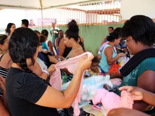Bazar Solidário contempla comunidade de Arraial d'Ajuda