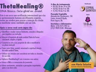 Curso oficial em Arraial de ThetaHealing: DNA Básico