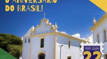"""Prefeitura de Porto Seguro lança o projeto """"22 de Abril – Aniversário do Brasil"""""""