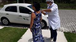 Secretaria de Saúde de Porto Seguro inicia a campanha contra a gripe influenza em domicílio para ido