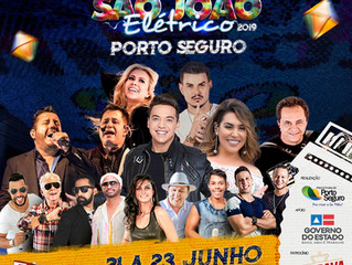Mais atrações confirmadas, programação oficial, decoração e muita diversão no São João Elétrico de P