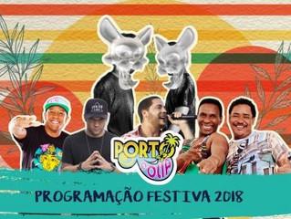 Porto Folia será nos dias 30 de maio a 3 de junho na Arena Axé Moi