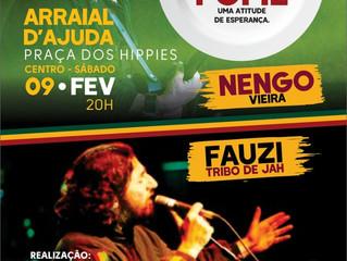 Em Arraial d'Ajuda: Reggae Contra A Fome, uma atitude de esperança