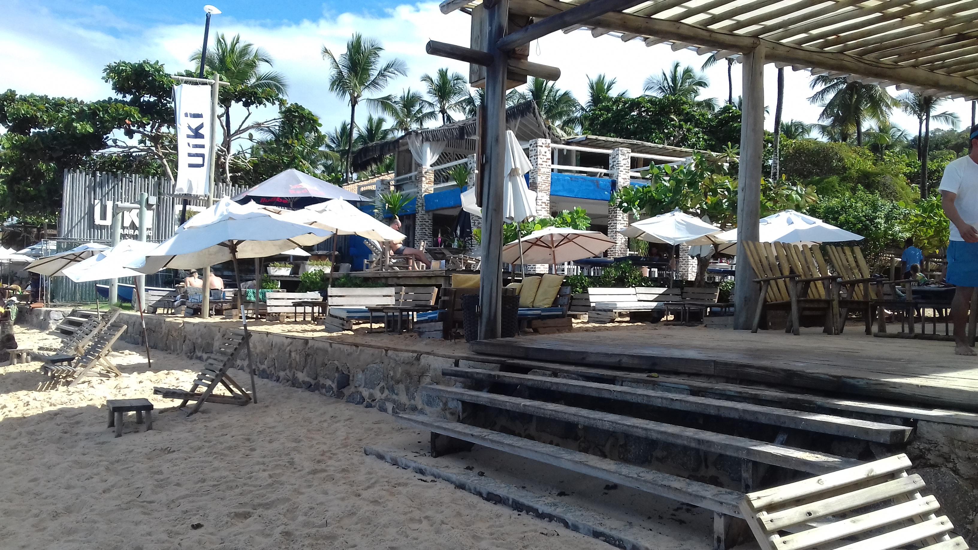 Barraca Uiki em Arraial d'Ajuda