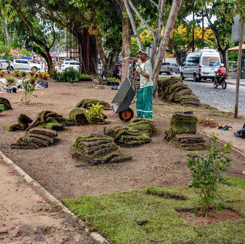 Praça São Brás revitalizada