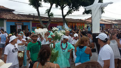 Arraial d'Ajuda celebra Dia de Iemanjá, em 02 de fevereiro