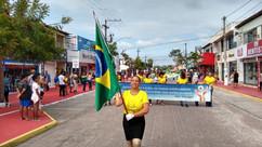 População vibra com desfile de 7 de Setembro em Porto Seguro