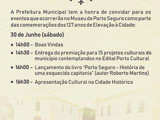 Programação variada é marca das comemorações de aniversário de Porto Seguro