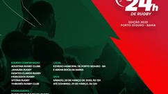 Copa 24h de Rugby promete trazer mais de 250 atletas a Porto Seguro
