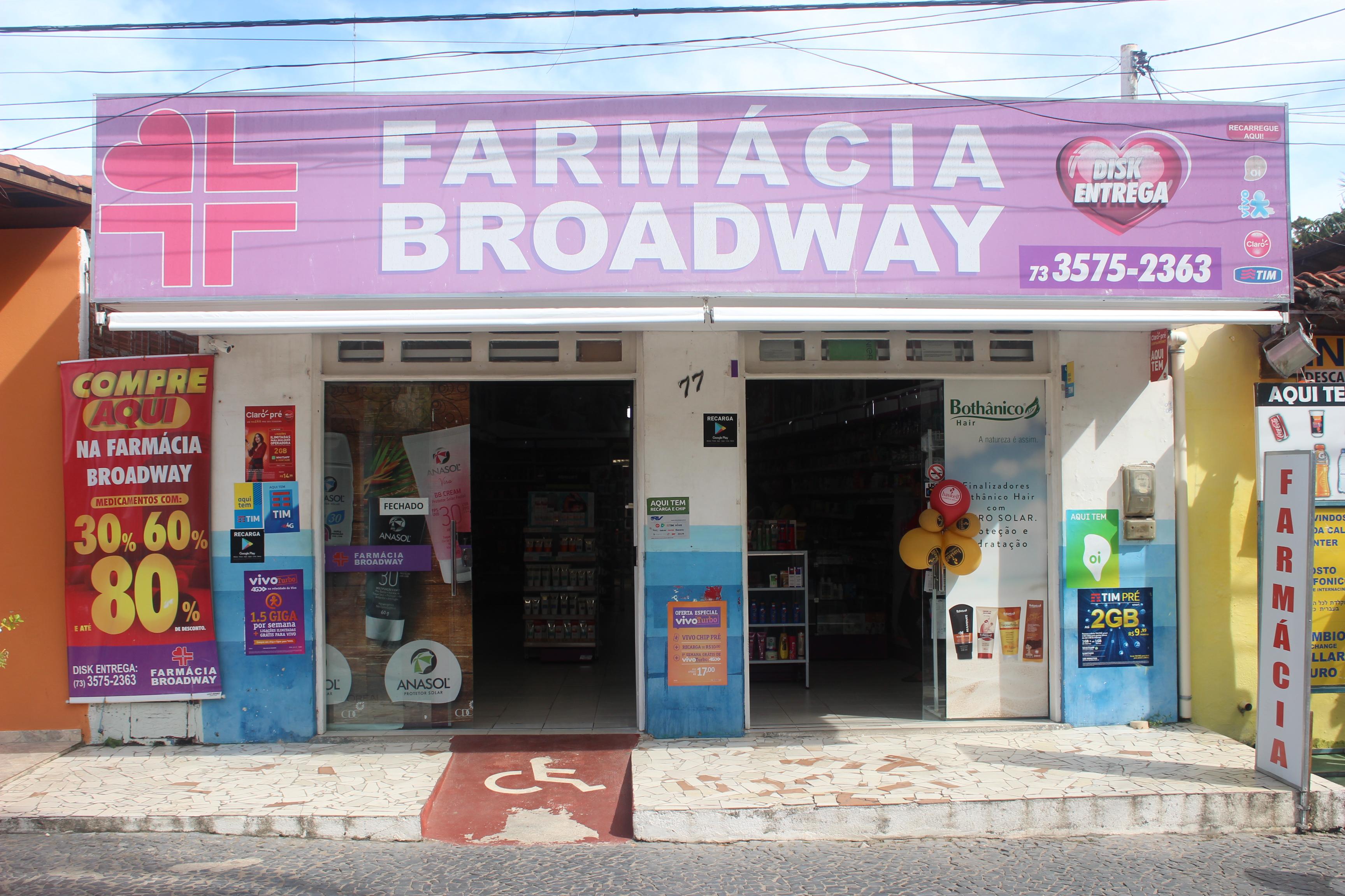 Farmácia Broadway em Arraial d'Ajuda